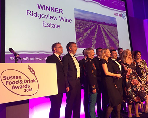 Crowned Best Sussex Drinks Producer