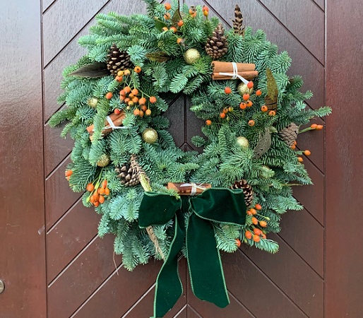 Traditional Wreath Making  //  1st December  //  12.00 – 15.00