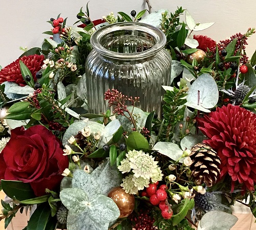 Centerpiece Wreath Making  //  8th December 2019  //  12.00 – 15.00