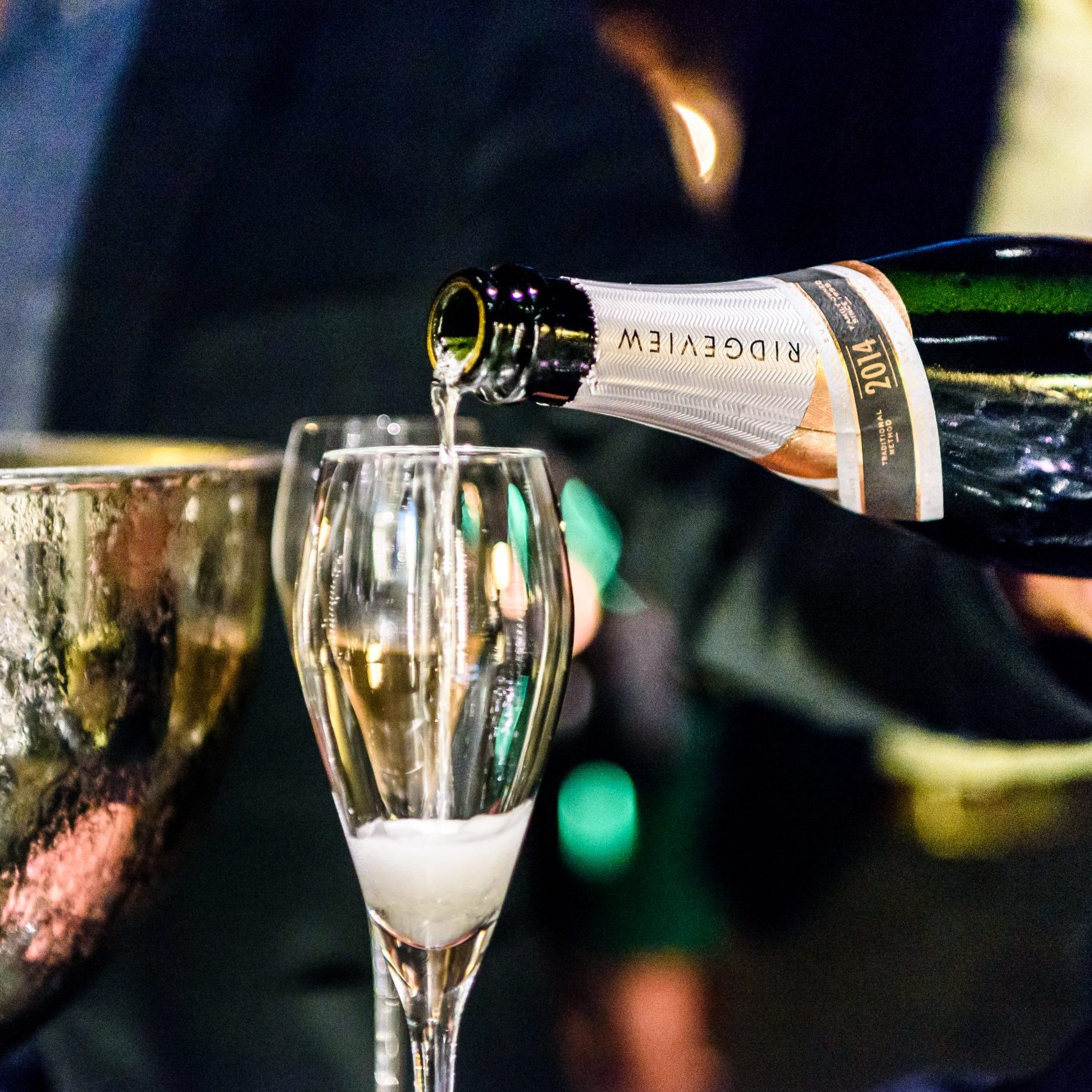 Ridgeview Wine Estate launches their new label at The Savoy photo ©Julia Claxton