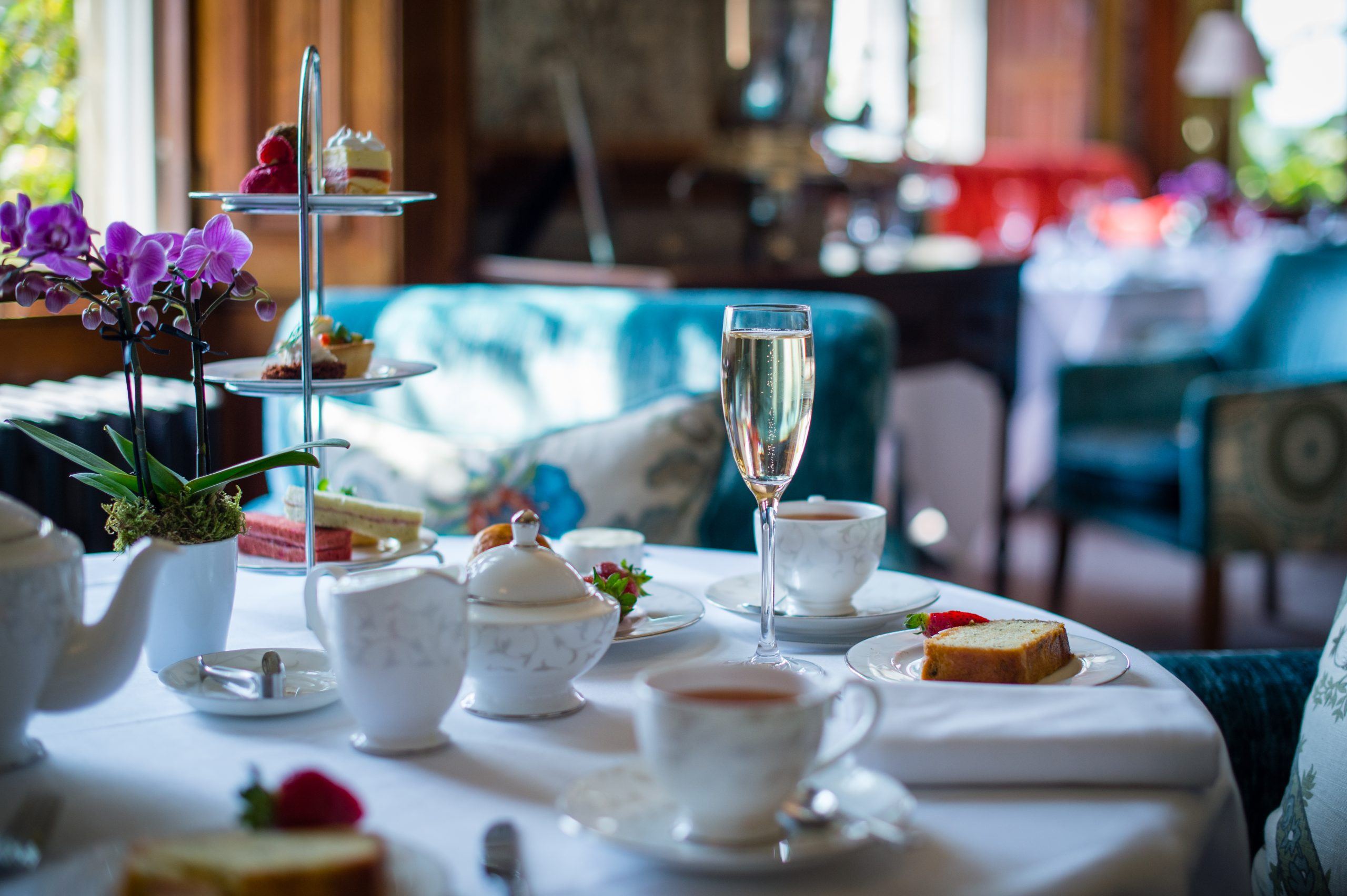 Afternoon Tea at South Lodge, Exclusive Hotels